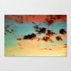 It was a beautiful day - photography  Canvas Print