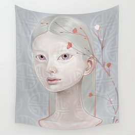 Japanese Blossom Wall Tapestry