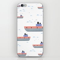 ships iPhone & iPod Skins featuring ships by Turksen Kizil