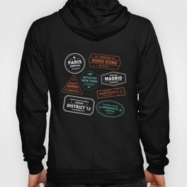 Love To Travel Stamps Hoody