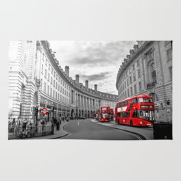 London Busses Rug