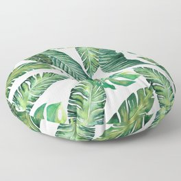 Jungle Leaves, Banana, Monstera #society6 Floor Pillow