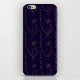 Purple Weeds iPhone Skin