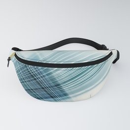 paper weave Fanny Pack