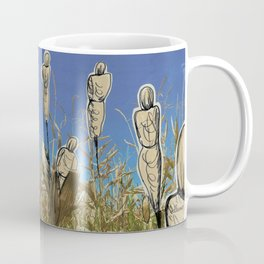 Human cornfield /Maizal humano Coffee Mug