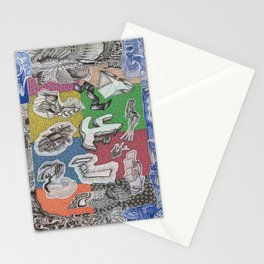 Expiration Conglomerate Stationery Cards