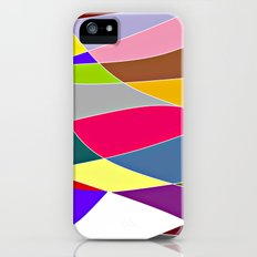 Abstract Lines & Color iPhone (5, 5s) Slim Case