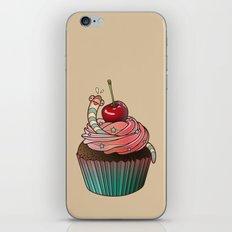 SWEET WORMS 1 - cupcake iPhone & iPod Skin
