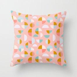 Playful Geometry Throw Pillow