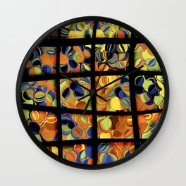 Trippy Window Wall Clock