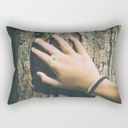 Hand Paquerette Rectangular Pillow