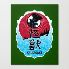 Kaiju Sake Canvas Print