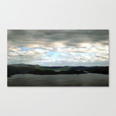 lake sweden. Canvas Print