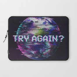Humanity Glitch Laptop Sleeve