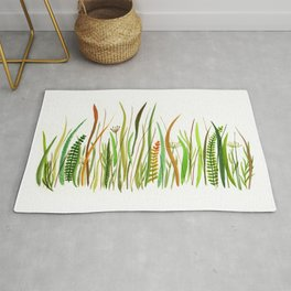 Prairie Watercolor by Robayre Rug