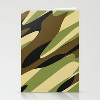 camo Stationery Cards featuring Camo by SShaw Photographic