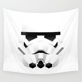 """WHITE TROOPER"" Wall Tapestry"