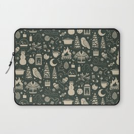 Winter Nights: Forest Laptop Sleeve