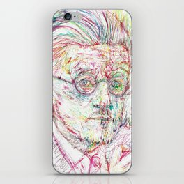 JAMES JOYCE portrait iPhone Skin