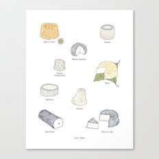 Goat Cheese Canvas Print