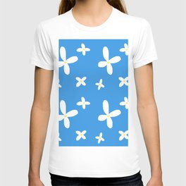 Classic Blue and White Flowers T-shirt