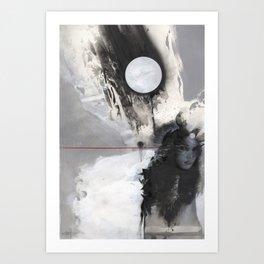 Nameless Winter Art Print