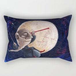 Galileo Galilei - Osservando la notte Rectangular Pillow