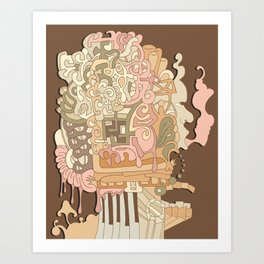 cerebral Art Print