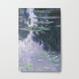 Monet, Water Lilies, Nympheas, 1907 Metal Print