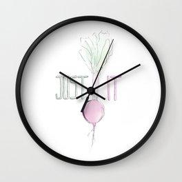 Just Beet It Wall Clock