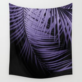 Palm Leaves Ultra Violet Vibes #1 #tropical #decor #art #society6 Wall Tapestry