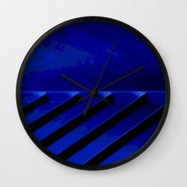 Kuhl's Kit Kat Klub: Blue Horizons Wall Clock