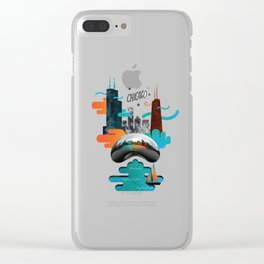 Chicago Clear iPhone Case