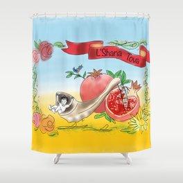 L'Shana Tova! Shower Curtain