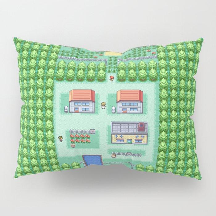 Dreams of Pallet Town - Kanto Pillow Sham