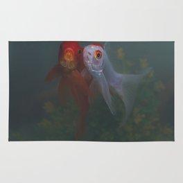 Two Goldfish Rug