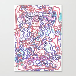 Capillary Reaction  Canvas Print