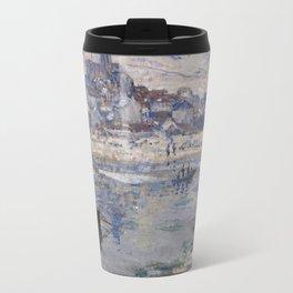 Vétheuil in Winter Travel Mug
