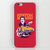 hamster iPhone & iPod Skins featuring Hamster by Leon Ryan