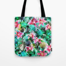 Jungle Lilies Tote Bag