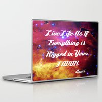 inspiration Laptop & iPad Skins featuring Rumi by 2sweet4words Designs