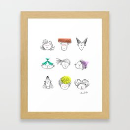 You're one of a kind Framed Art Print