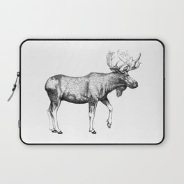 Bull Moose - Pen and Ink Laptop Sleeve