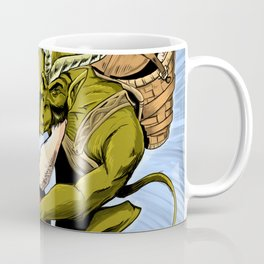 Santa Vs the Krampus Coffee Mug