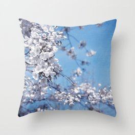 azzurro Throw Pillow