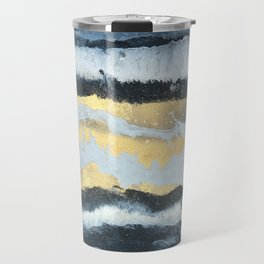 VITAMIN | Abstract acrylic art by Natalie Burnett Art Travel Mug