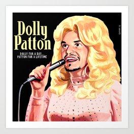 Dolly Patton Art Print