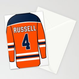 Kris Russell Jersey Stationery Cards