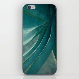 blue agave iPhone Skin