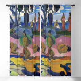 Paul Gauguin Day of the God Blackout Curtain